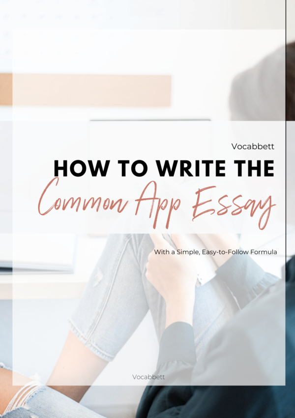 How to Write the Perfect Common App Essay (Formula!)