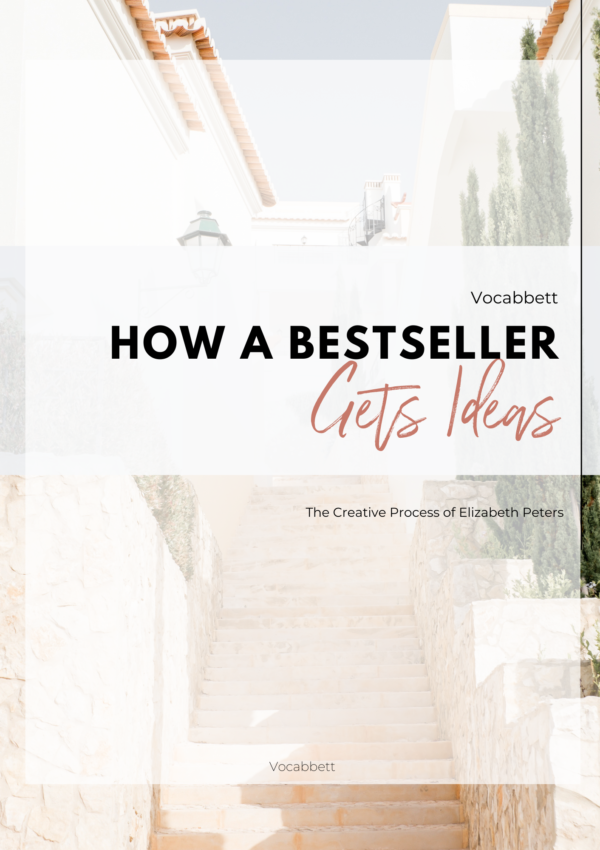 How a Bestseller Gets Ideas (With Inspiration From Elizabeth Peters)