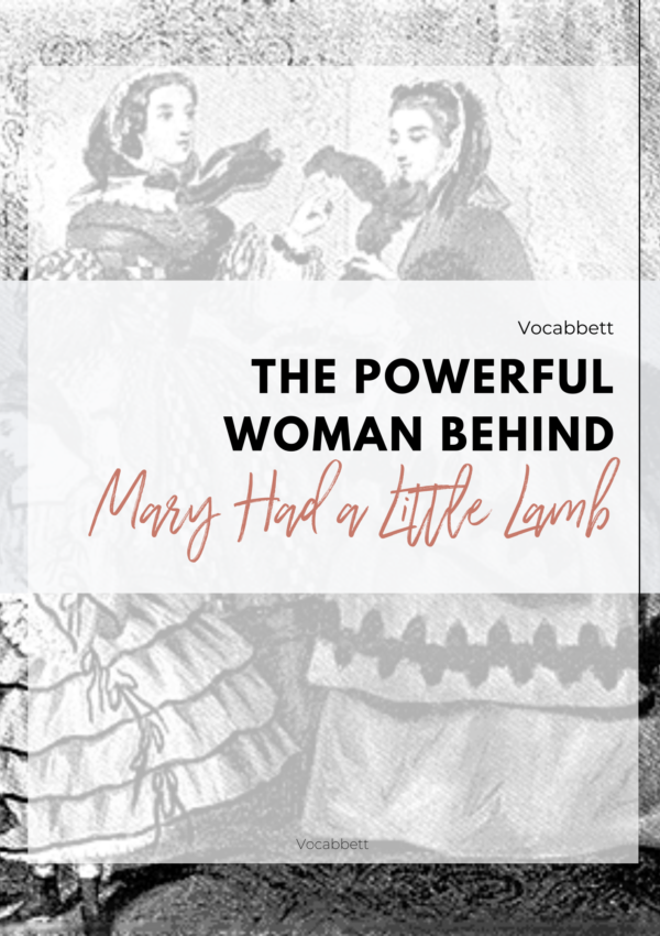 The Powerful Woman Behind 'Mary Had a Little Lamb'